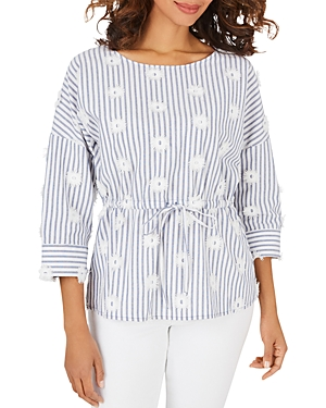 Marina Cotton Embroidered Top
