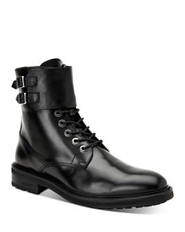 ALLSAINTS - Men's Beckworth Leather Combat Boots