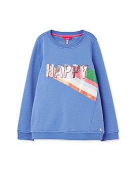 Joules - Girls' Voila Happy Sweatshirt - Little Kid, Big Kid