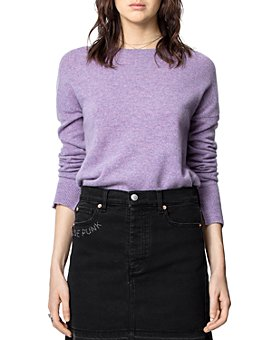 Zadig & Voltaire - Cashmere Pullover Elbow-Patch Sweater