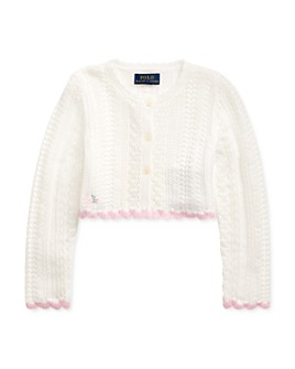 Ralph Lauren - Girls' Cropped Cardigan - Little Kid