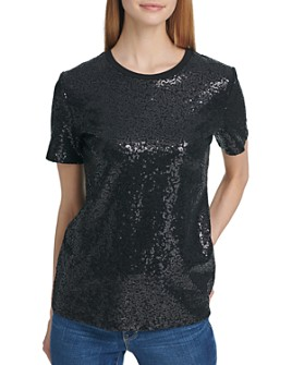DKNY - Sequin Top