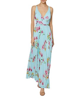 Laundry by Shelli Segal - Floral-Print Chiffon Gown