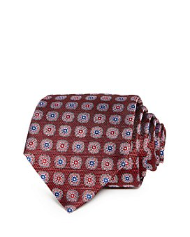 The Men's Store at Bloomingdale's - Oakville Floral Medallion Silk Classic Tie - 100% Exclusive