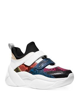 MICHAEL Michael Kors - Women's Keeley Mid-Top Trainer Sneakers
