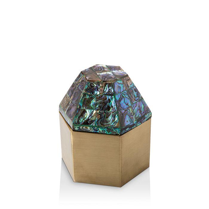 Regina Andrew Design - Alexis Abalone Hexagon Box