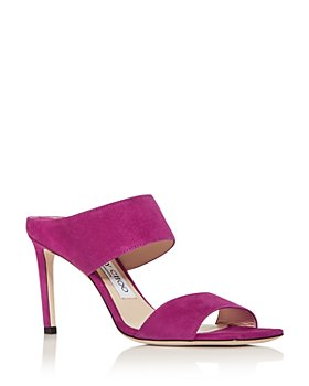 Jimmy Choo - Women's Hira High-Heel Slide Sandals