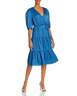Rebecca Minkoff - Maria Cotton Printed Wrap Dress