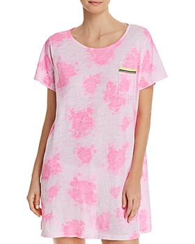 Pitusa - Tie-Dyed T-Shirt Swim Cover-Up