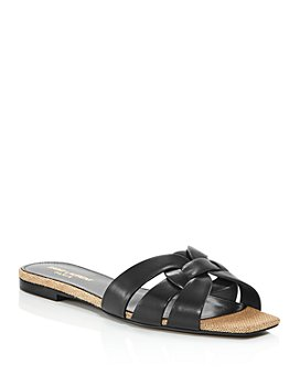 Saint Laurent - Women's Nu Pieds 05 Flat Slide Sandals