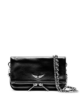 Zadig & Voltaire - Rock Nano Leather Crossbody Clutch
