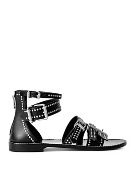 Zadig & Voltaire - Women's Studded Gladiator Sandals
