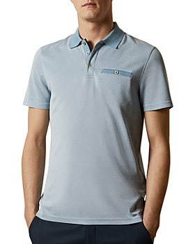Ted Baker - Flat-Knit Short-Sleeve Polo