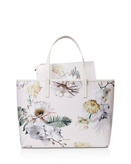 Ted Baker - Gracely Woodland Coated Canvas Shopper Tote Bag