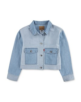 Levi's - Girls' Light Chord Denim Jacket - Big Kid