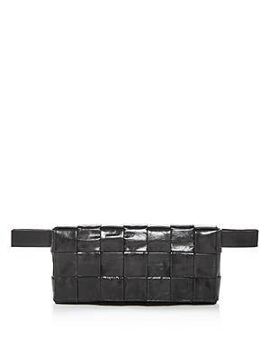 Bottega Veneta Borsa Woven Leather Belt Bag