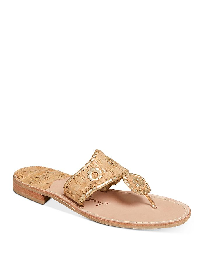 Jack Rogers - Women's Napa Valley Cork Thong Sandals