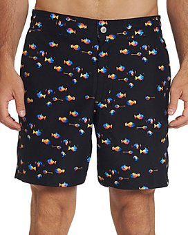 Robert Graham - Fish Tank Swim Trunks
