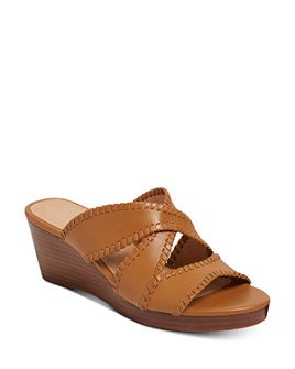 Jack Rogers - Women's Jackie Mid-Heel Wedge Sandals