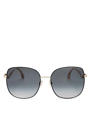 Jimmy Choo Women's Mamie Oversized Square Sunglasses, 60mm