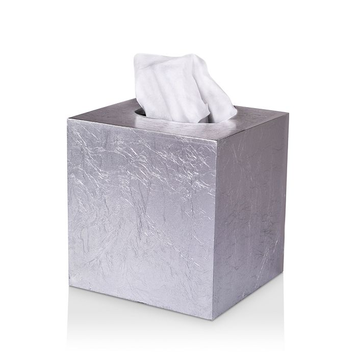 Mike and Ally - Eos Silver Leaf Tissue Box