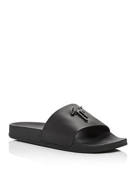Giuseppe Zanotti - Men's Birel Leather Slide Sandals