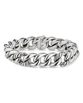 David Yurman - Sterling Silver Curb Chain Bracelet