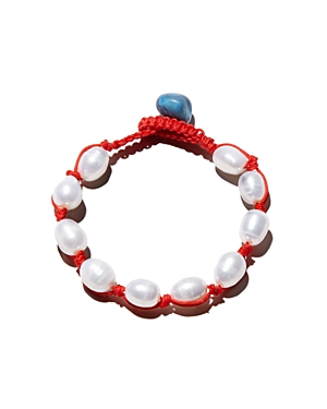 Aqua Freshwater Pearl Bracelet - 100% Exclusive