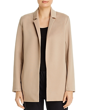 Eileen Fisher Petites Notch-Collar Jacket