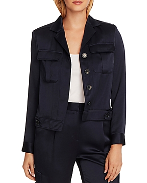 Vince Camuto Liquid Satin Jacket