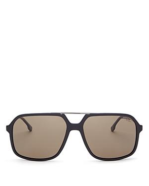 Carrera Unisex Brow Bar Square Sunglasses, 59mm