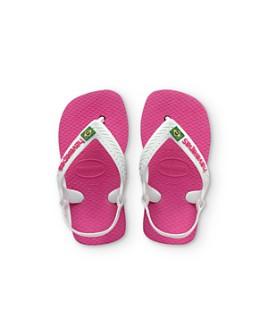 havaianas - Unisex Brazilian Flag Slingback Flip-Flops - Walker, Toddler