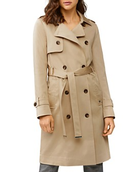 Soia & Kyo - Liana Double-Breasted Trench Raincoat - 100% Exclusive