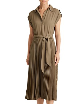 Ralph Lauren - Pleated Georgette Dress