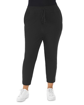 B Collection by Bobeau Curvy - Julian French Terry Cropped Jogger Pants