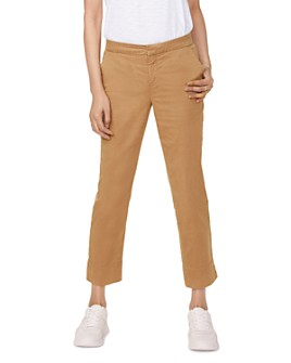 NYDJ - Relaxed Crop Stretch Twill Chino Pants