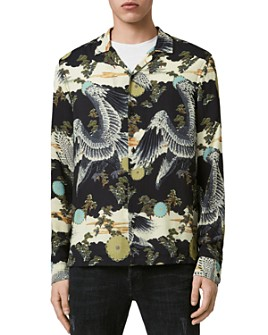 ALLSAINTS - Descent Printed Shirt
