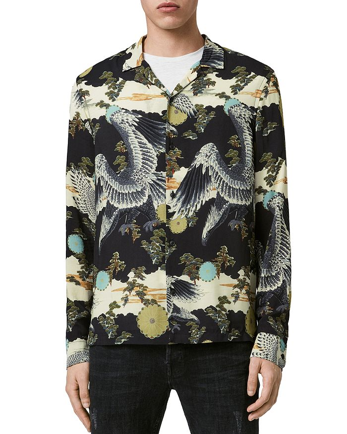 ALLSAINTS - Descent Printed Shirt