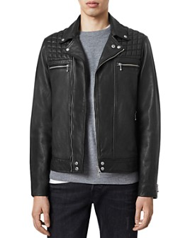 ALLSAINTS - Ronver Leather Biker Jacket