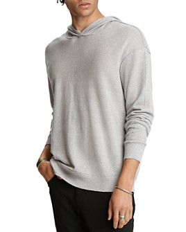John Varvatos Collection - Easy Fit Cashmere & Linen Hoodie