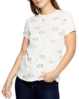 CHASER - Cotton Lips Print Tee