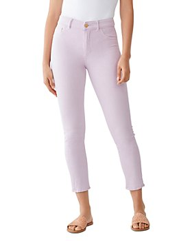 DL1961 - Farrow High-Rise Cropped Skinny Jeans in Viola