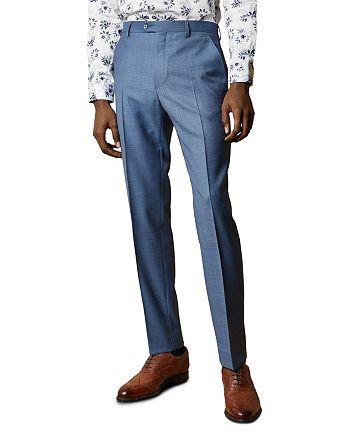 Ted Baker - HectorT Debonair Sharkskin Modern Fit Trousers