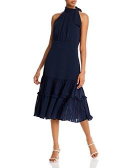 AQUA - Shadow-Striped Dress - 100% Exclusive