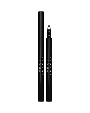 What It Is: Clarins\\\' revolutionary three-prong eyeliner pen that fills in the spaces between each lash (dot by dot) to perfectly accentuate and add volume to lashes. What It Does: - Gives you precision control for creating a sharp line and a flaw-free effect. - Delivers an intense color result and long-lasting wear with deep black pigments. - Helps lengthen and strengthen lashes with Clarins\\\' exclusive Be Long Lash Complex. How To Use It: Apply 3-Dot Liner between the lashes to fill in any space
