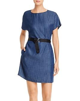 Armani - Belted Denim Dress