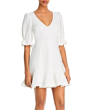 Cinq a Sept Riley Ruffled Mini Dress-Women