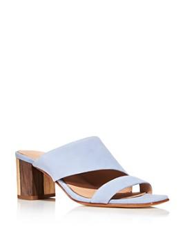 Charles David - Women's Chello Slip On Mid-Heel Sandals