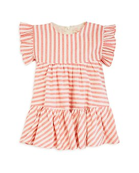 Pink Chicken - Girls' Kit Yarn-Dyed Stripe Dress - Baby