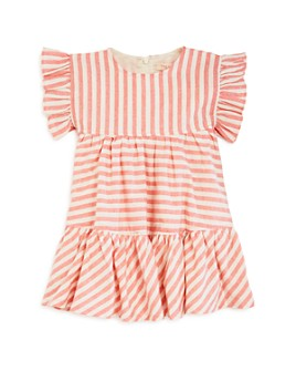 Pink Chicken - Girls' Kit Yarn-Dyed Stripe Dress - Baby